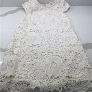Beautiful H&M Girls Lace Eyelet Dress